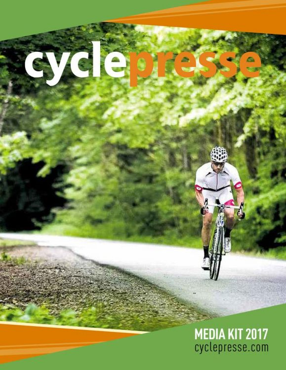 CyclePresse - Media kit 2017