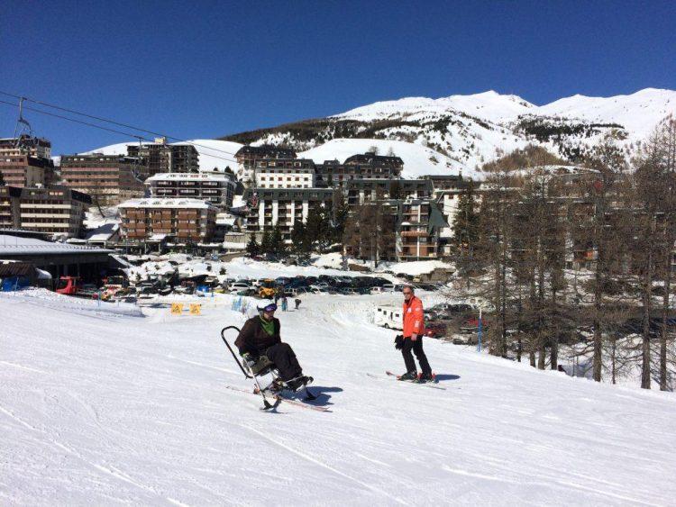 Sestrières, un paradis pour skieurs handicapés