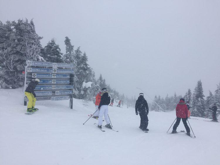 29 décembre 2016, Ski Mont Orford