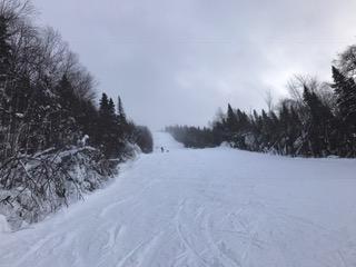 le 20 décembre 2016, MSA des conditions hivernales au versant nord