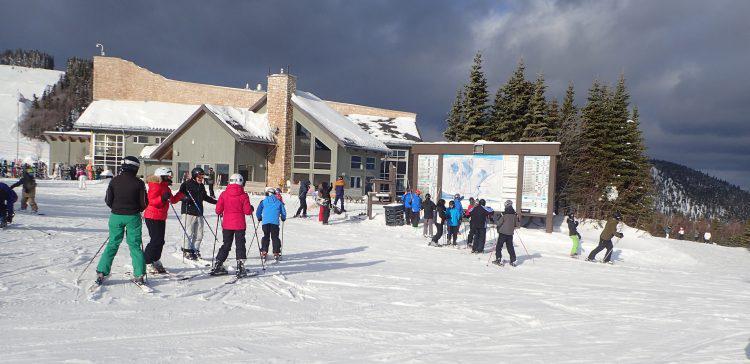 27 décembre 2016, Massif de Charlevoix, Du temps doux pour le ski !