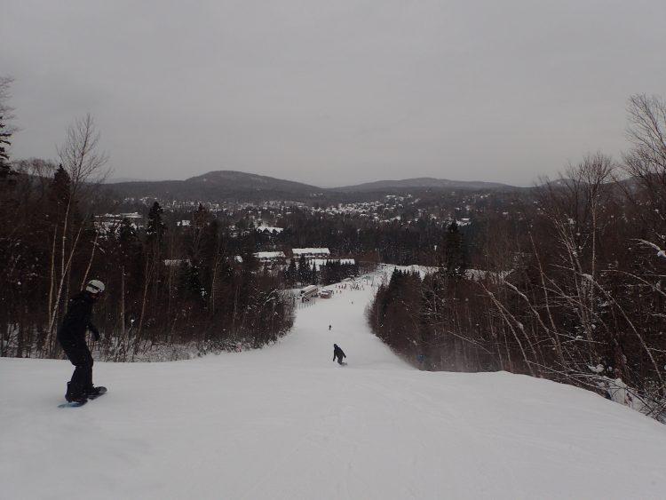 29 décembre 2016, Centre de ski Le Relais, belle journée de ski avant la tempête