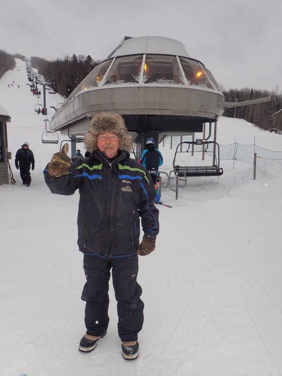 29 décembre 2016, Centre de ski Le Relais, Du staff de bonne humeur!