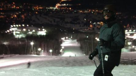 29 décembre 2016, Ski Bromont de soirée: On ne peut mieux pour un retour sur les planches