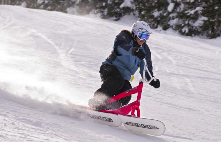 Nouveauté à Ski Chantecler : le véloneige