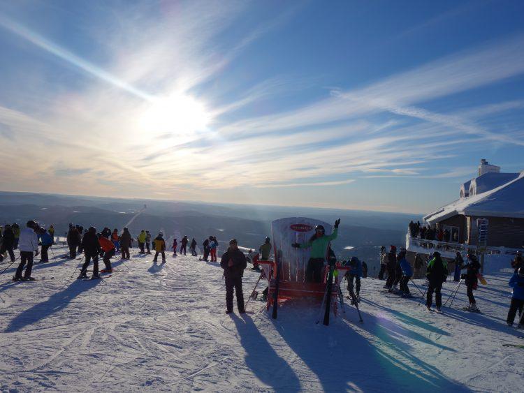 7 janvier 2017 – Mont Tremblant – Sous le soleil !