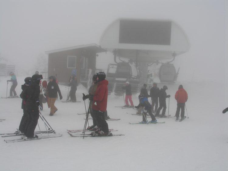 21 janvier 2017 Mont Orford : Mamie l'hiver est à l'envers !!!