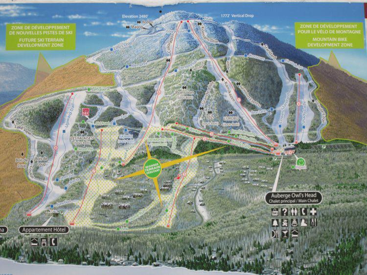 19 janvier 2017, Owl's Head, une belle journée de ski
