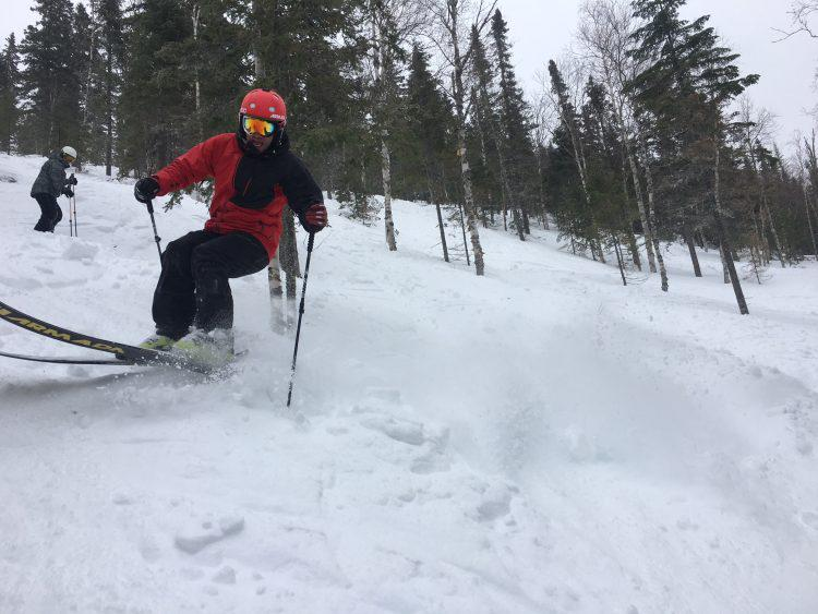 25 janvier 2017, Mont Grand-Fonds, attache ta tuque …