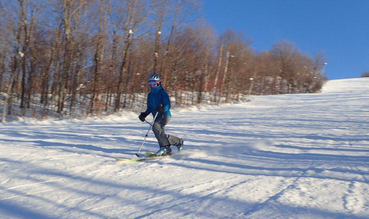 8 Janvier 2017, Centre de ski le Relais, Le froid…pas grave!