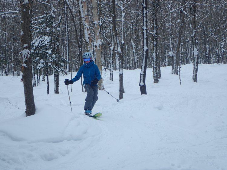 28 janvier 2017 – Station de ski Stoneham, Très belles conditions et beaucoup d'activités sur la montagne