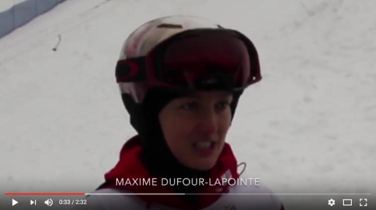 Coupe du monde VSC : entrevue avec Maxime Dufour-Lapointe