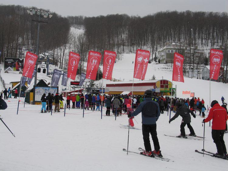 11 Février 2017, Ski Bromont : Le calme avant la tempête ?
