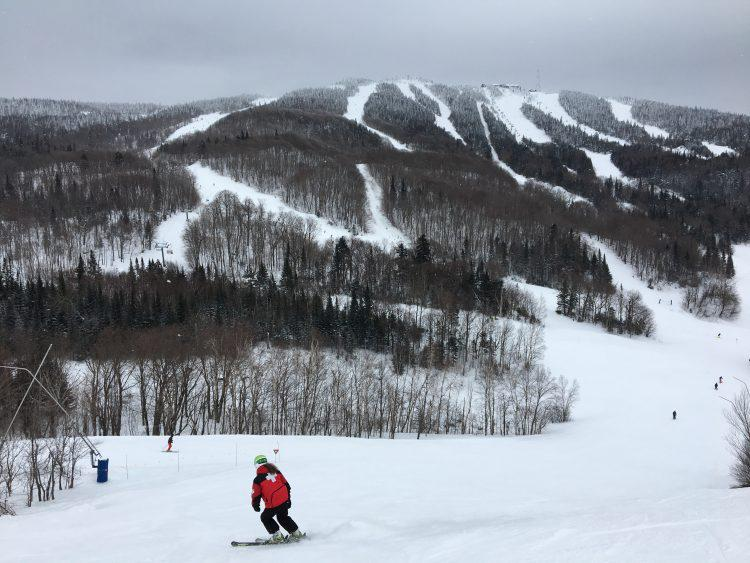 11 février 2017 – Mont Tremblant – La vue et la neige !