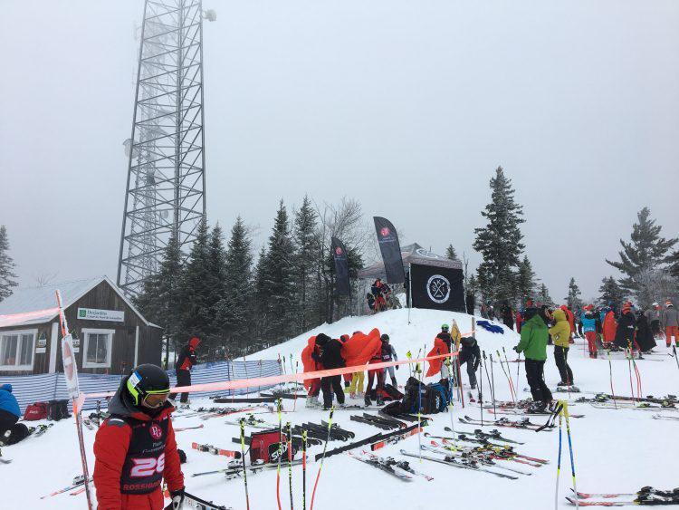 12 février 2017 – Val Saint-Côme – Compétitions et entraînement dans le calme !