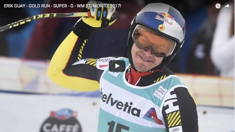 Érik Guay à nouveau Champion du monde du super-G