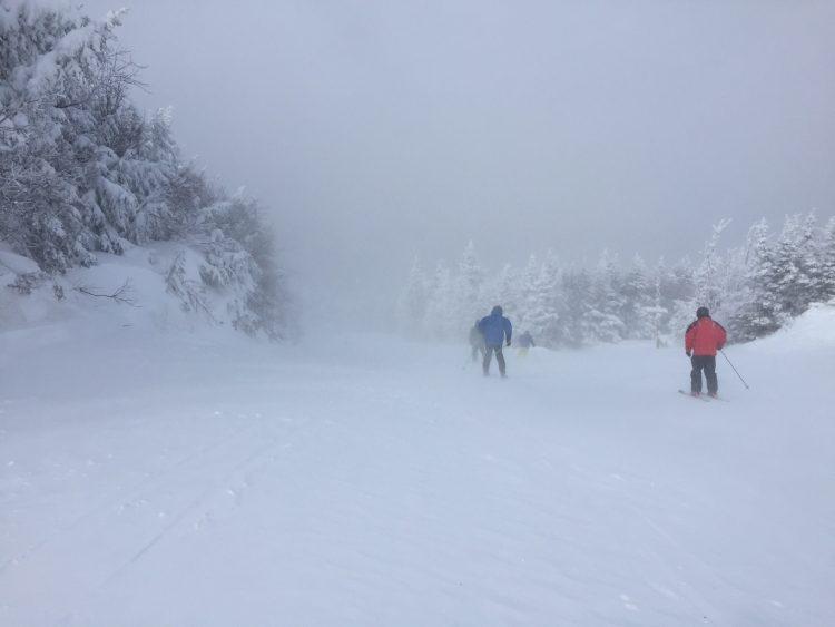 16 février 2017 – Killington – Mémoire d'une sortie de ski parfaite!
