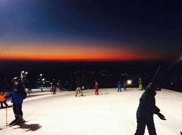 18 Février 2017, Ski Bromont, nuit blanche au allure de ski de printemps !