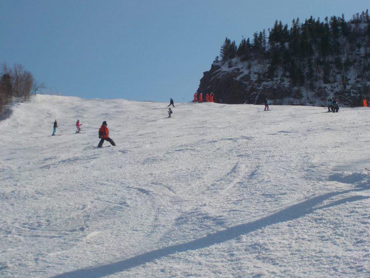 le 28 février 2017, le Mont Orford, le plaisir partagé entre les montagnes.