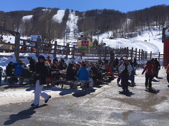 18 mars 2017.  Ski Bromont.  Merci Dame Nature!!!