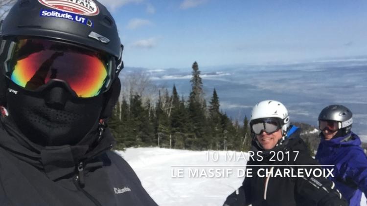 10 mars 2017 –  Massif de Charlevoix