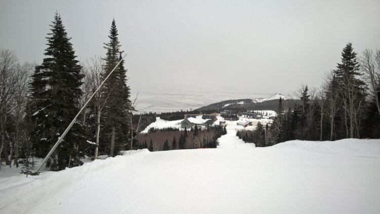 Le Massif de Charlevoix, March 11 2017, Fun Brut in the cold!