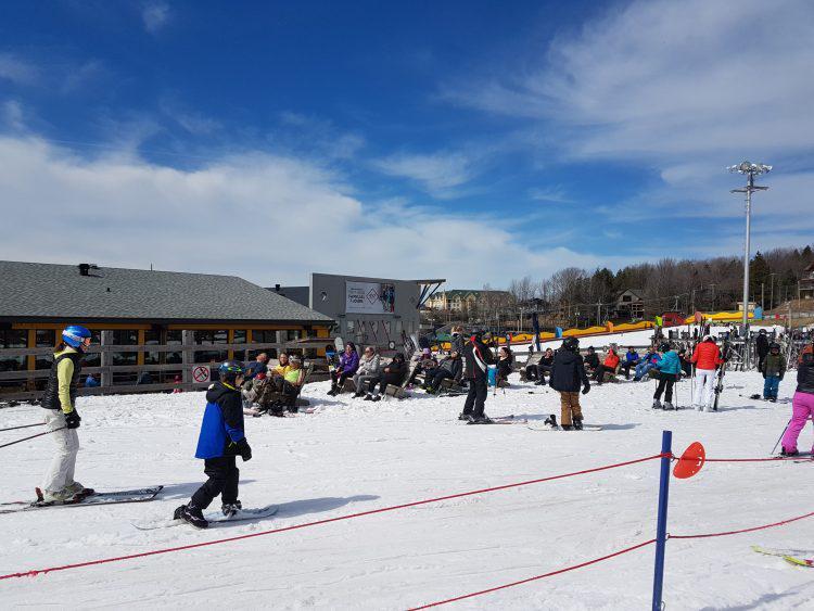 9 Avril 2017 –Ski Bromont –Ski de printemps, Gros sel