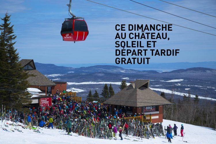 33 cm de nouvelle neige au Mont-Sainte-Anne