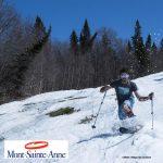 Dernier week-end de ski au Mont-Sainte-Anne