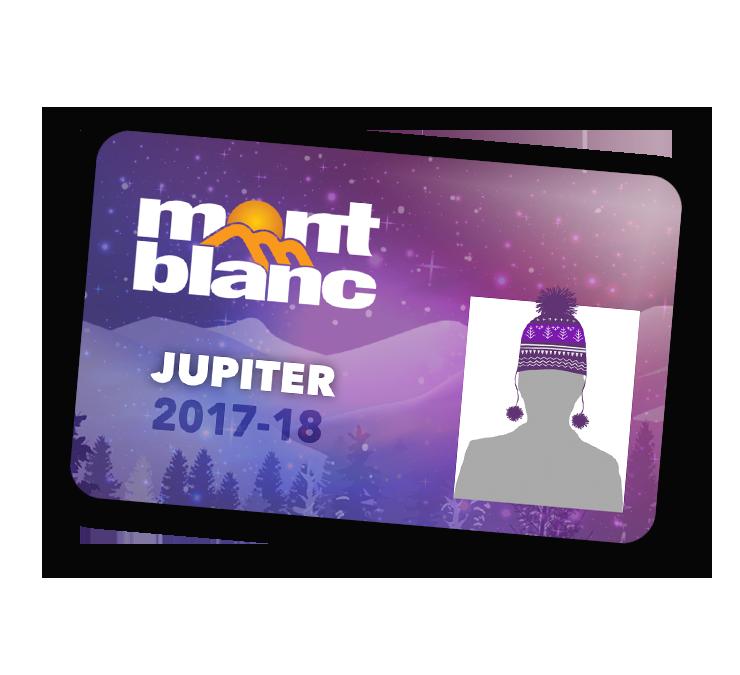 Mont-blanc la nouvelle carte Jupiter