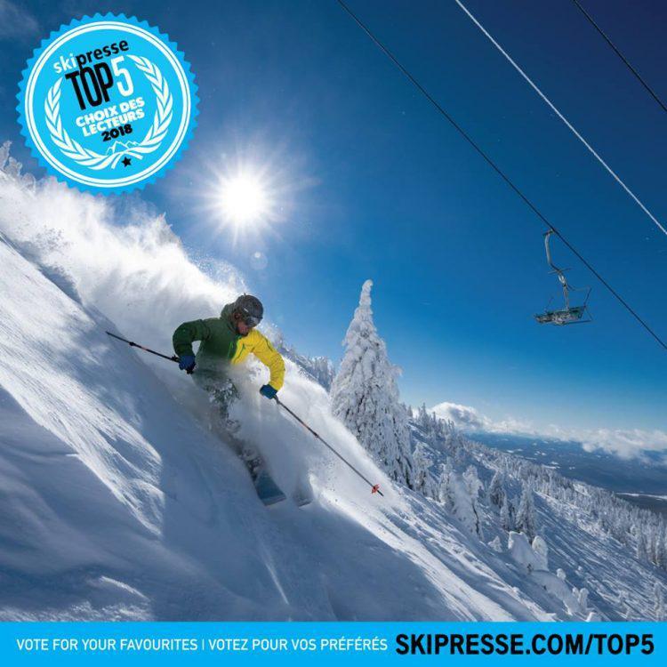 On veut savoir : Quel est votre centre de ski préféré dans l'ouest canadien ?