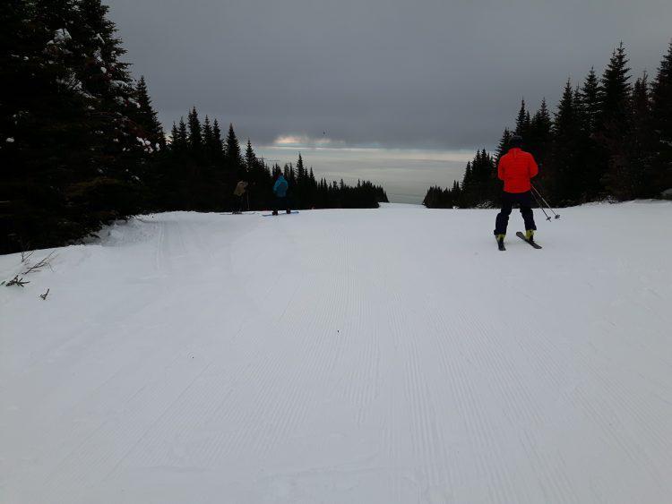 Le Massif de Charlevoix, C'est un bon départ pour le Massif!, 2 décembre 2017