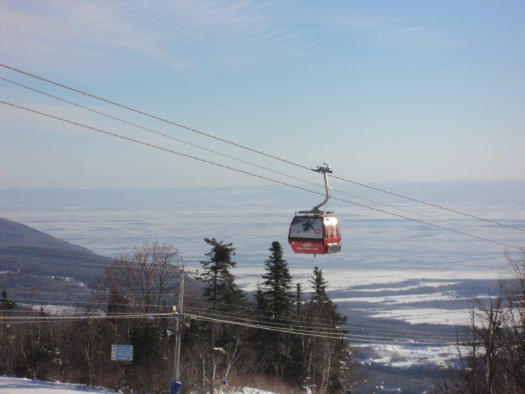 Mont-Saint-Anne, jeudi 21 décembre, le soleil et le froid