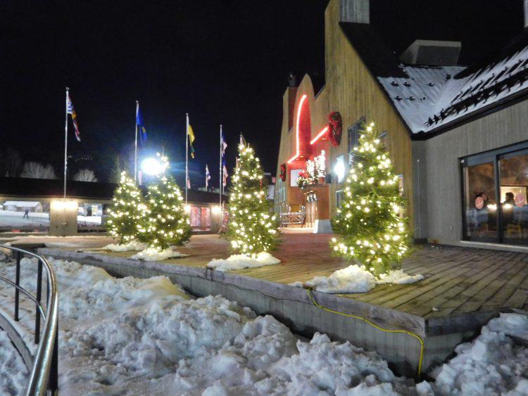 Mont St-Sauveur, Belle soirée, 1 décembre 2017