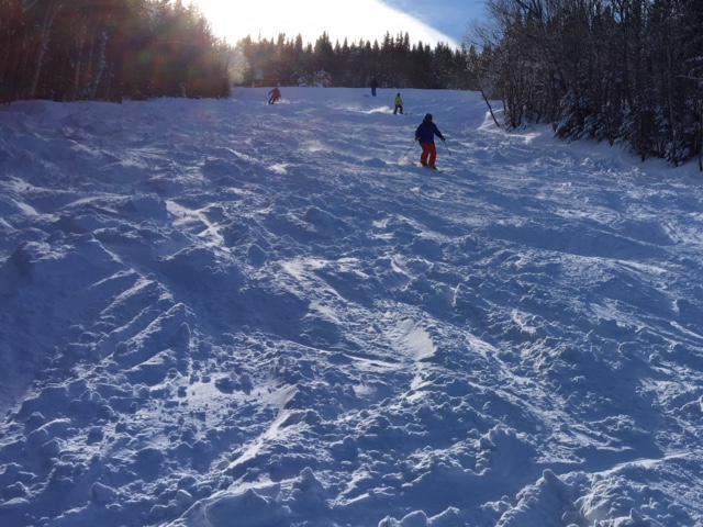 Mont Sainte-Anne, La perfection tout simplement… Le 16 décembre 2017