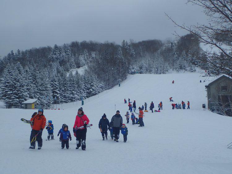 Le Relais, Cours de skis pour les touts-petits, 13 décembre 2017