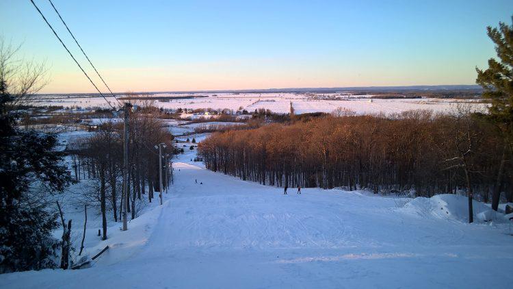 Mont Rigaud – Backyard Skiing – December 26, 2017