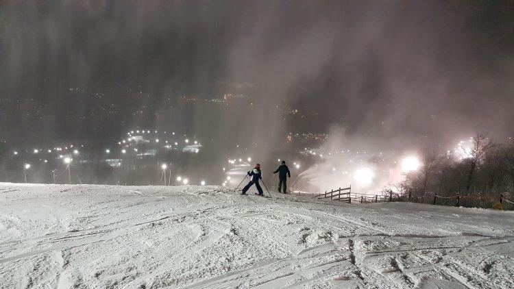 Bromont 16 janvier– soirée magnifique– coup de coeur dans la piste new york