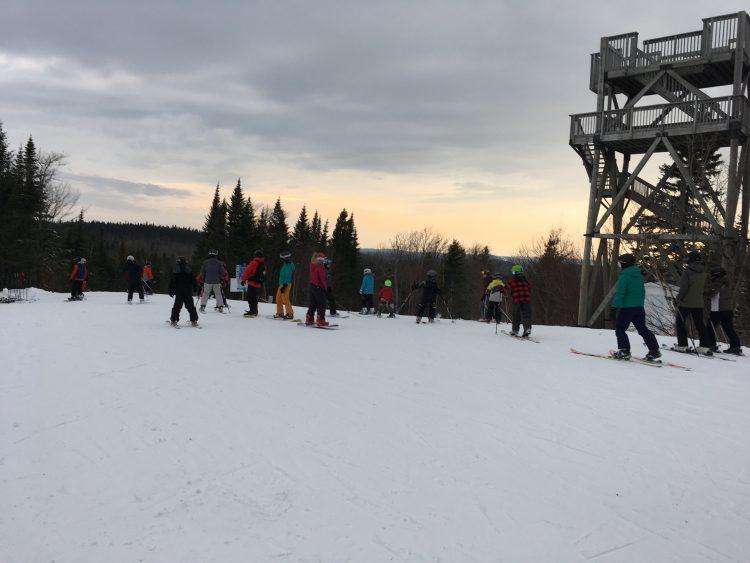 Mont Lac-Vert – 27 janvier 2018 – Douceur sur la montagne!