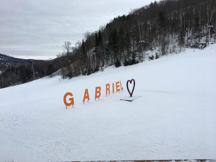 Sommet Gabriel – Pas froid finalement! 7 janvier 2018