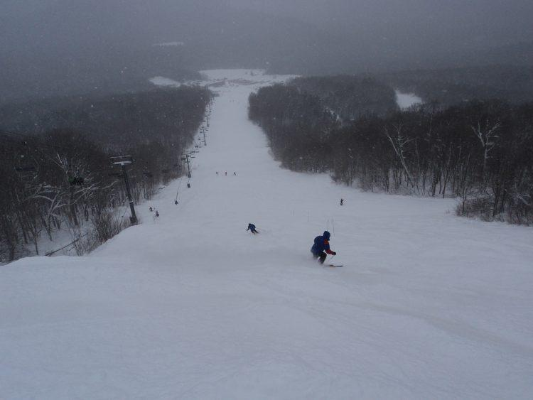 Lundi 8 janvier – mont Tremblant – powder day !!!!!!