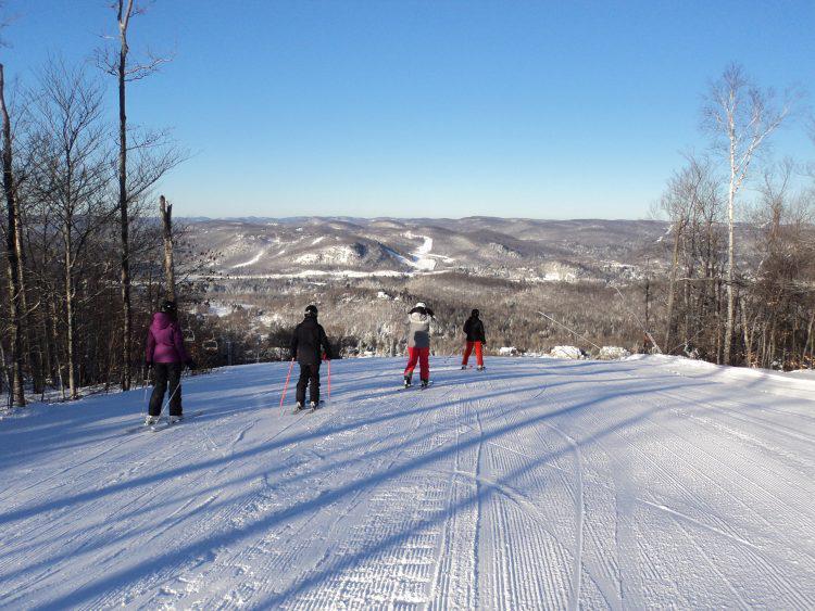 dimanche 14 janvier  mont olympia  froid et magnifique soleil