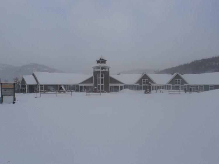 mercredi 24 janvier  Mont Edouard  du ski dans un petit 50 cm