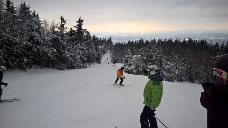 Mont Sutton – Spring Skiing – 20 January 2018
