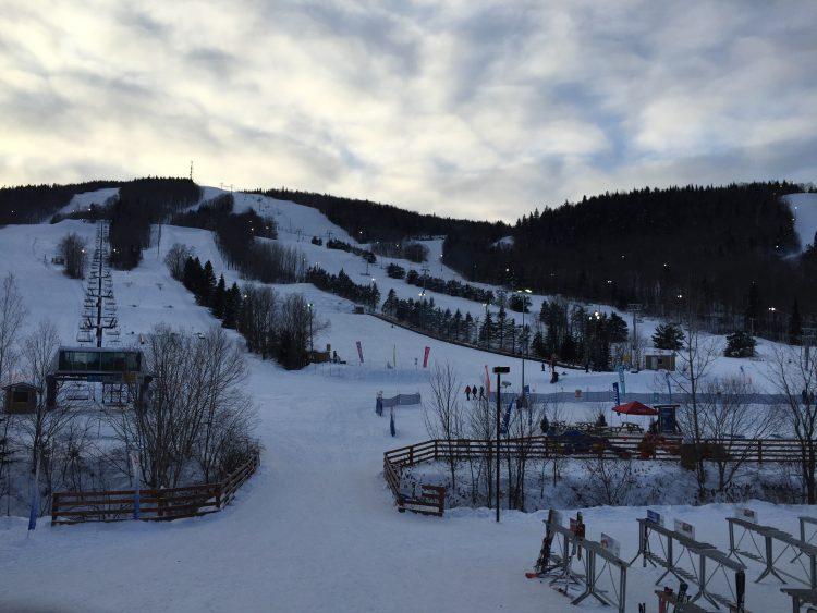 Stoneham, Débuter l'année du bon ski, 1 janvier 2018