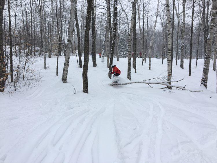 Somment St-Sauveur, le retour de la neige, 4 février 2018