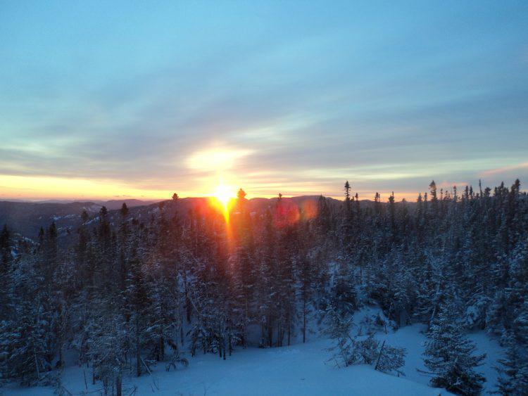 du 5 ou 9 février mont Édouard et son ski haute-route
