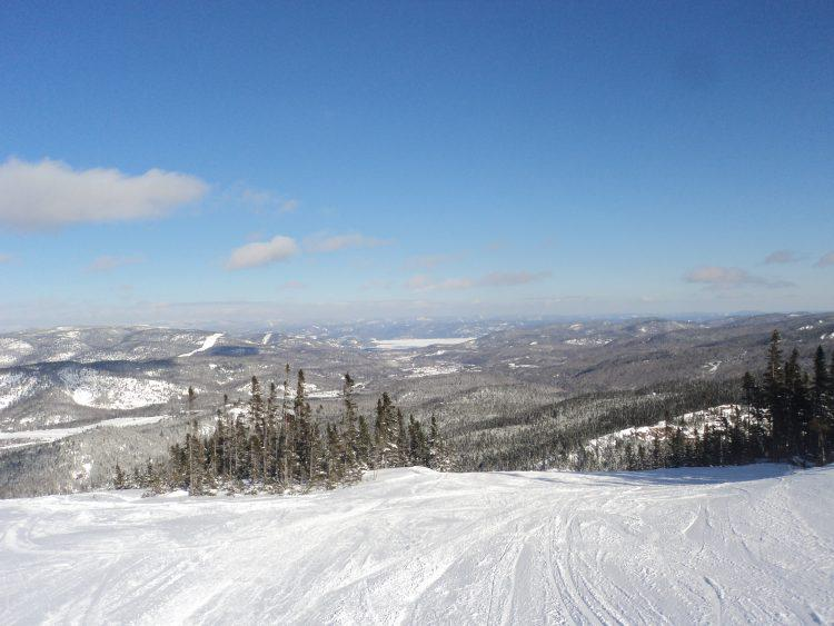 vendredi 9 février,  Mont-Édouard, vive la neige