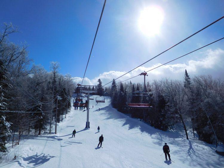 Mont St-Sauveur, 12 février 2018, Super journée