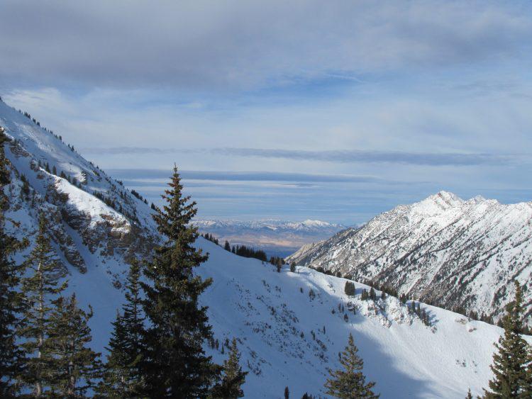 ALTA, Utah – Paysages spectaculaires  – 30 janvier 2018